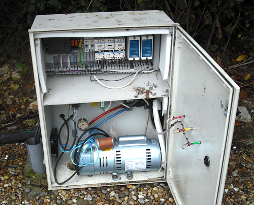 Pump Station electrical problems essex