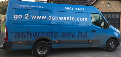 Van servicing repairing sewage pumps